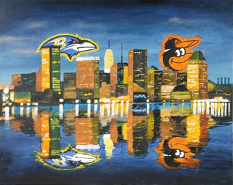 Ravens-Orioles Baltimore Harbor