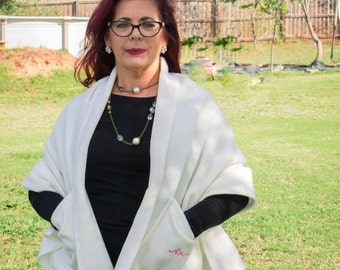 Shawl Wrap, Prayer Shawl, Fleece Jacket, Womens Shrug, Shoulder Wrap, Fleece, Womens Jacket, Mens Jacket, Senior Gifts