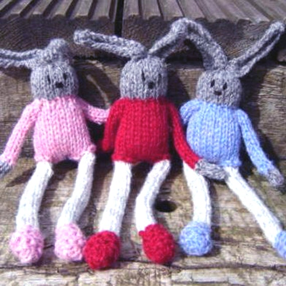 Sheep Egg Cosy Knitting Pattern : Box of Five Knitting Patterns, Mothers Day Gift, Bunny ...
