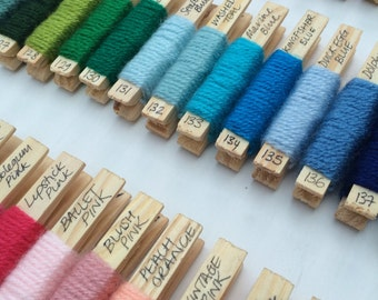 Yarn pegs - set of 60 Paintbox Yarns Simply DK