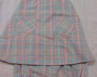 infant girls sundress , panties & hat - CLEARANCE