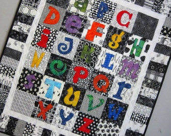 PDF Pattern Learning My ABCs Alphabet Applique Quilt Pattern from Quilts by Elena
