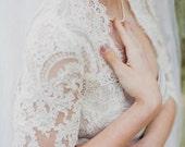 Lace Wedding Bolero - Lace Wedding Jacket - Lace Bolero - Stella