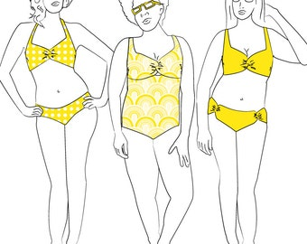 Nautilus Swimsuit Sewing Pattern