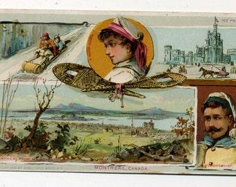 Victorian Trade Card - Arbuckle Coffee -  Montreal, Canada - 1891