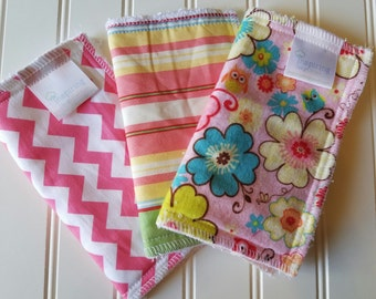 Kids-Wash-Cloth-Flowers-Pink-Baby-Wipes-Meal-Time-Clean-Up-Art-Time-Wiping-Boards-New-Parent-Baby-Accessories-Shower-Baby-Toddler-Gift-Set