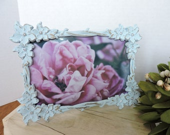 Framed Rose Photo Rosee Art