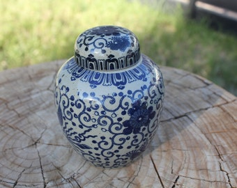 Vintage Keepsake Jar