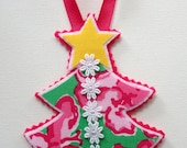 1 Lilly Pulitzer Tree Ornament