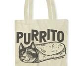 Purrito (Tote Bag)