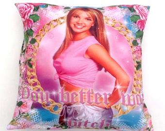 Britney Cushion Cover - Ms Nina & Eat me!
