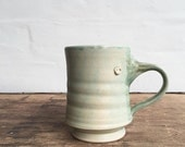 Pottery Mug in Mint Green