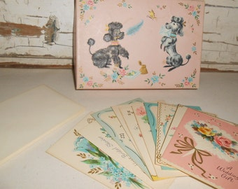Vintage Coronation Gift Cards Collections, Vintage Cards