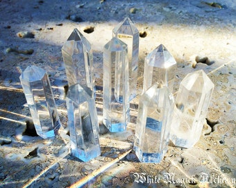Crystal Quartz Generator Standing Points Small