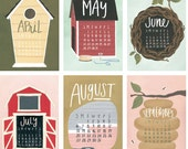 2017 XL Wall Calendar *Refill*: Dwellings