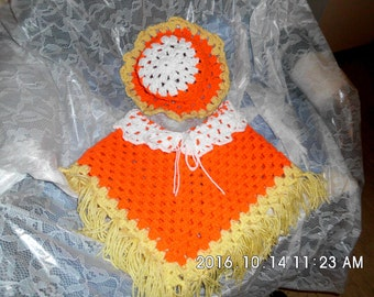 Poncho/hat