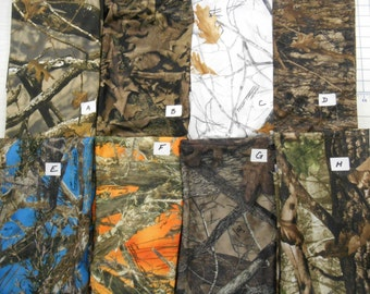 SPANDEX camo camouflage fabrics True Timber 2-&4-way stretch lightweight FREE SHIP