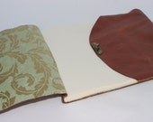 Simple Leather Wedding Guest Book