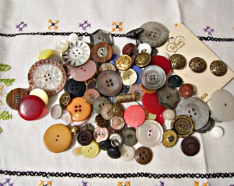 100 buttons supplies bulk buttons sewing and crafts