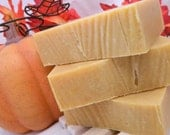 Country Pumpkin Goats Milk Soap made with REAL pumpkin goats milk and essential oils