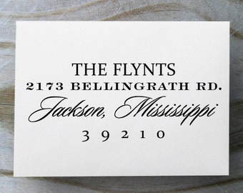 Self Inking Address Stamp, Address Stamp, Custom Address Stamp, Return Address Stamp, Personalized Gift, Wedding Gift, Custom Address - 1043