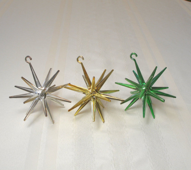 Sputnik christmas ornaments -  Zoom