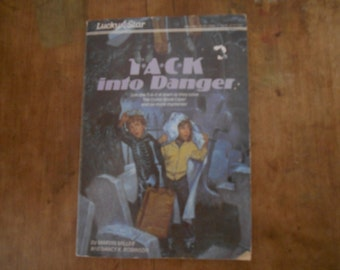 Vintage Lucky Star SC Scholastic Book T*A*C*K into Danger by Marvin Miller and Nancy K. Robinson