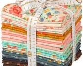 Woodland Clearing by Liesl Gibson Cotton LAWN for Robert Kaufman 27 Fat Quarter Bundle FQ-1049-27