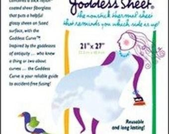 """FAT GODDESS SHEET-21"""" x 27"""" 52.3cm x 68.6cm Inch Transparent"""