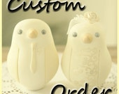 Custom Order Wedding Cake Topper - For lorenarojas4