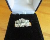 pretty cz ring