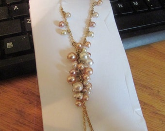 pearl colorful necklace