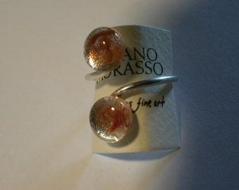murano glass ring