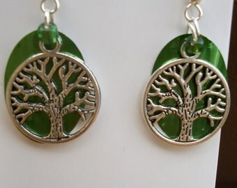 Tree of Life can earrings