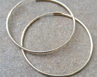 35mm Gold FilledEndless Hoops