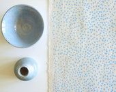 Pinpoint - screen printed fabric - chalky colours