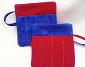SALE Crayon roll - Super hero birthday party 4th of July Birthday Party Favors  either ribbon or elastic closures  Quantity discounts