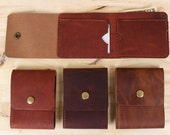 Explorer Leather Billfold Wallet with Snap Closure, Card Pockets