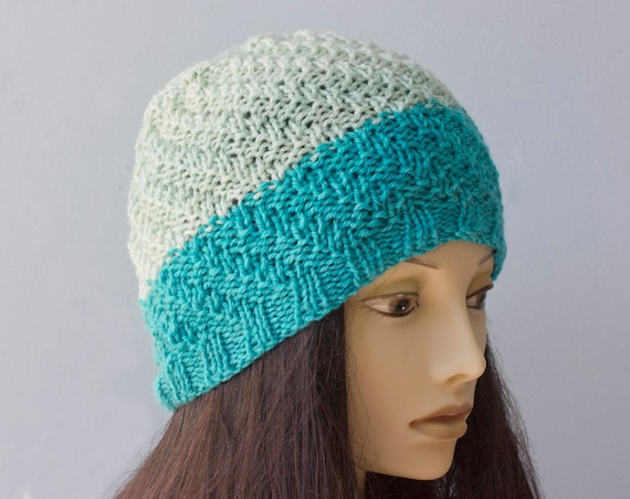 Hat and Scarf Knitting Pattern, One Skein Caron Cakes ...