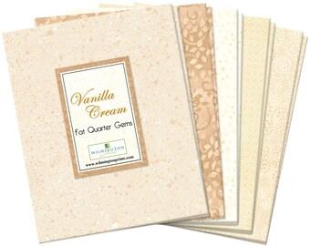 Fat Quarters, Wilmington Essentials Gems Vanilla Cream  Q52242522 20 pack fat quarters cotton fabric -FREE US SHIPPING!