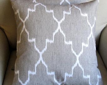 MONACO LINEN pillow cover 18x18 20x20 22x22 24x24 26x26
