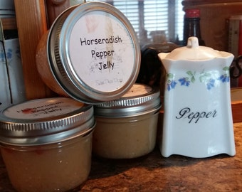 Horseradish Pepper Jelly