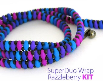 Super Duo Wrap Kit: Razzleberry