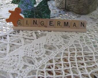 Gingerman Scrabble Tile