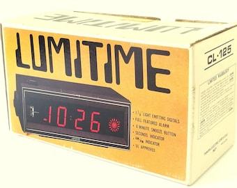 Vintage Lumitime Empty Box