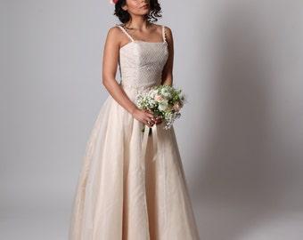 Autumn Joy wedding dress