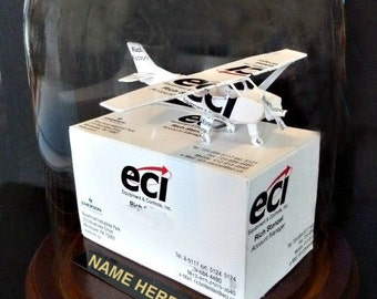 Cessna 172 Business Card Sculpture Item 1398