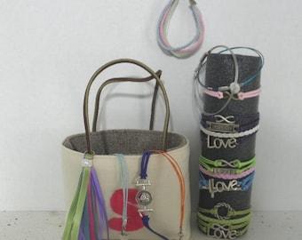 Personalized tote, Monogrammed Tote, Purse, Handbag, Bridesmaid Gift, flower girl, birhtday girl,