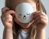 LITTLE gurus round mascot sticker