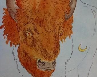 1974 Buffalo Dreams print